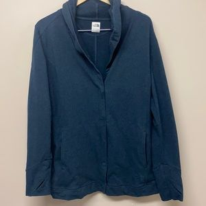 The North face women's sweatershirt front open